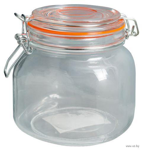 Банка для сыпучих продуктов стеклянная (800 мл; арт. 50034-4) — фото, картинка
