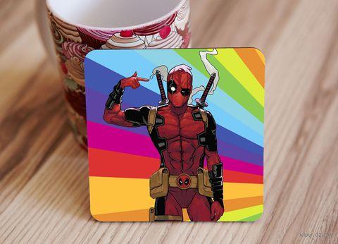 "Подставка под кружку ""Deadpool"" (art.7)"