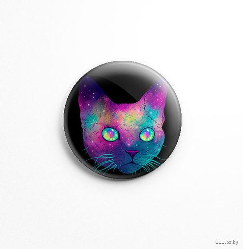 "Значок маленький ""Кот"" (арт. 424) — фото, картинка"