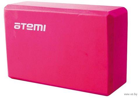 Блок для йоги (розовый; арт. AYB-01 p) — фото, картинка