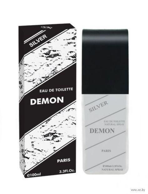 """Туалетная вода для мужчин """"Demon Silver"""" (100 мл) — фото, картинка"""