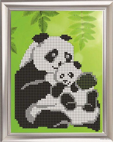 """Вышивка бисером """"Панда"""""""