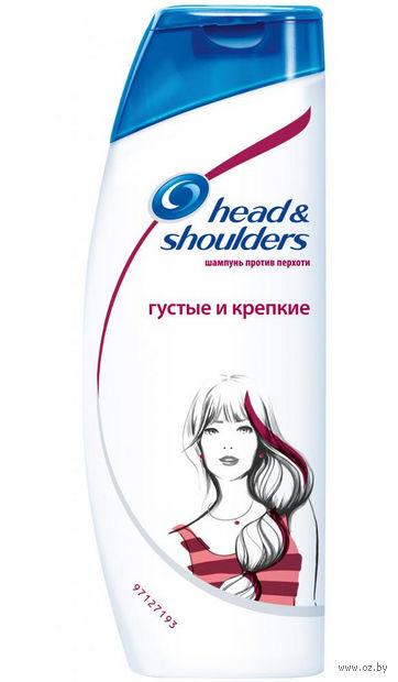 """Шампунь для волос """"Густые и крепкие"""" (400 мл)"""