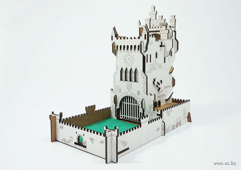"""Башня для бросания кубиков """"Белый Замок"""" — фото, картинка"""