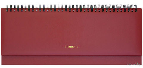 """Еженедельник-планинг датированный """"Ariane"""", 2017 (64 листа; бордовый)"""