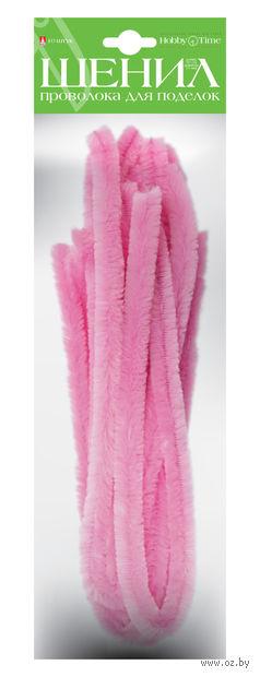 Проволока пушистая №2 (10 шт.; светло-розовая) — фото, картинка