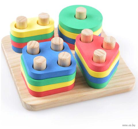 """Деревянная игрушка """"Логический квадрат"""" — фото, картинка"""