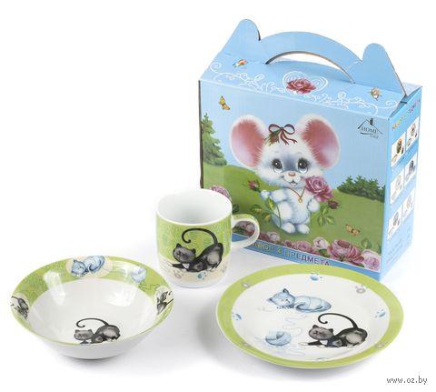 Набор для завтрака (3 предмета; арт. LX-3PCS-C416) — фото, картинка