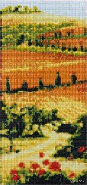 """Алмазная вышивка-мозаика """"В полях"""" (170х400 мм) — фото, картинка"""