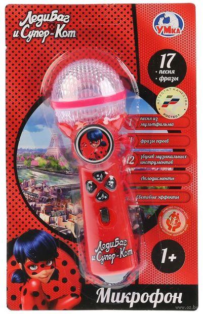"""Музыкальная игрушка """"Леди Баг и Супер-Кот. Микрофон"""" (со световыми эффектами) — фото, картинка"""