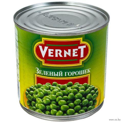 """Горошек зеленый """"Vernet"""" (400 г) — фото, картинка"""