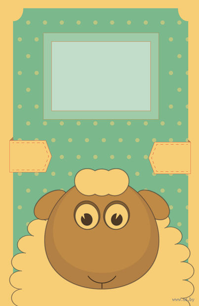 """Блокнот для записей """"Год овечки"""" (А5) — фото, картинка"""