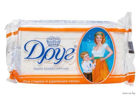 """Хозяйственное мыло """"Друг"""" для стирки и удаления пятен (135 г)"""