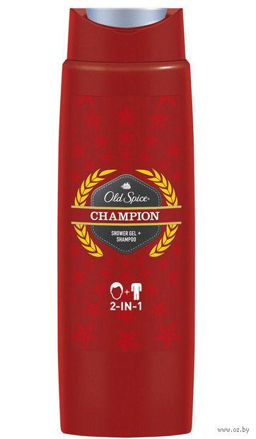 """Гель для душа + шампунь 2в1 """"Champion"""" (250 мл) — фото, картинка"""