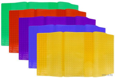 """Обложка для учебников универсальная прозрачная цветная """"Darvish"""" (арт. DV-5668)"""