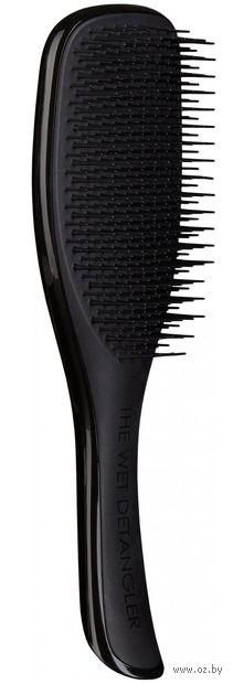 """Расческа для волос """"Tangle Teezer Wet Detangler. Black"""" — фото, картинка"""