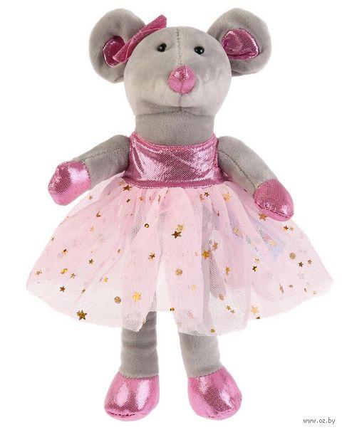 "Мягкая игрушка ""Мышка-балерина"" (18 см) — фото, картинка"