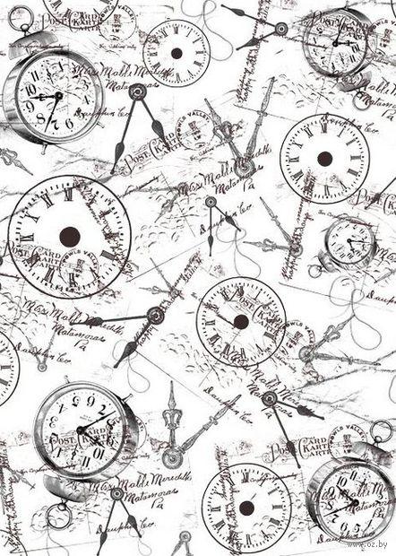 """Пленка-оверлей """"Часы"""" (210х300 мм)"""