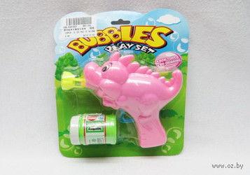 """Игрушка для выдувания мыльных пузырей """"Динозаврик"""""""