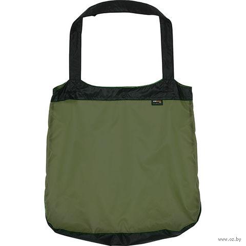 Сумка-авоська (чёрно-оливковая) — фото, картинка