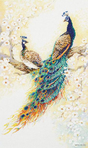 "Вышивка крестом ""Персидский сад"" (300x500 мм) — фото, картинка"