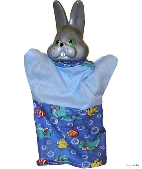 "Мягкая игрушка на руку ""Заяц"" (25 см) — фото, картинка"