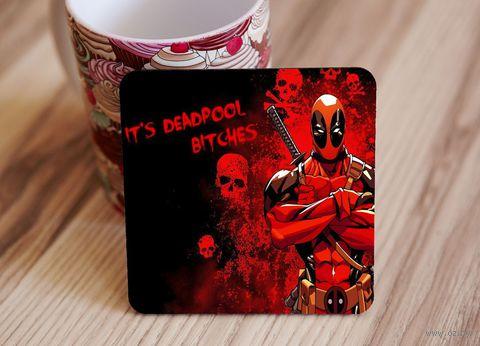 "Подставка под кружку ""Deadpool"" (art.11)"