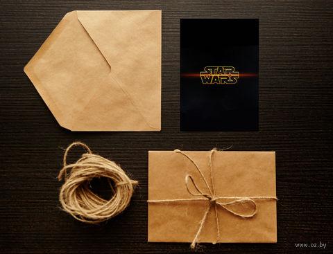 """Открытка """"Звездные войны"""" (арт. 3) — фото, картинка"""