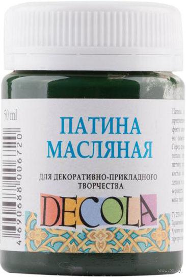 """Патина масляная """"Decola"""" (зеленая; 50 мл) — фото, картинка"""