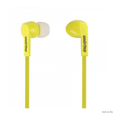 Наушники Smartbuy Prime SBE-160 (желтые) — фото, картинка