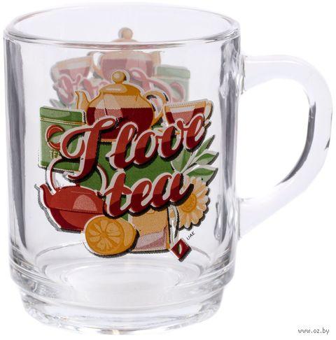 """Кружка """"I love tea"""" (арт. P4135) — фото, картинка"""