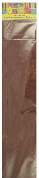 Бумага крепированная (коричневый)