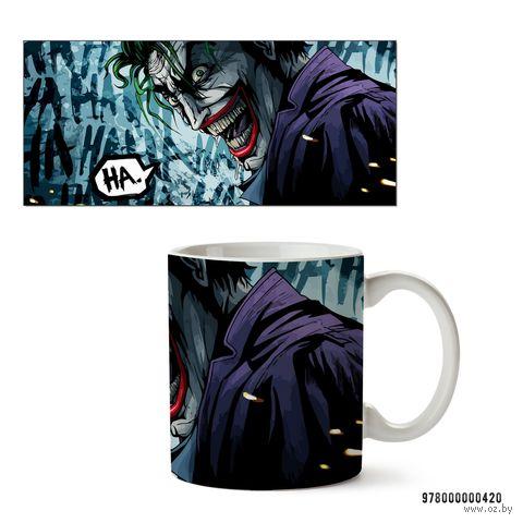 """Кружка """"Джокер из вселенной DC"""" (420)"""