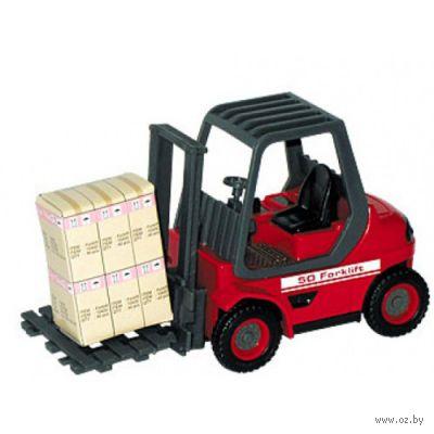 """Модель машины """"Forklift Optima. Погрузчик"""" (масштаб: 1/24)"""