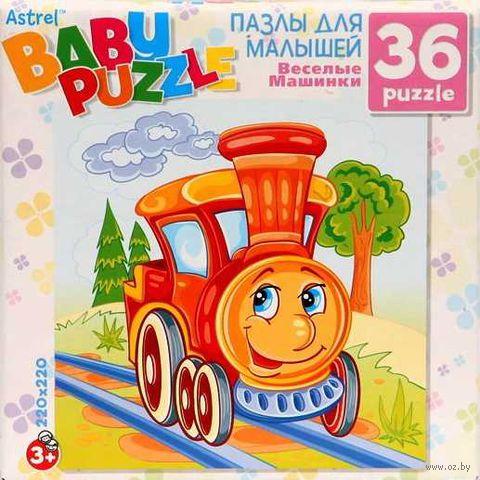 "Пазл ""Baby Puzzle. Паровозик"" (36 элементов) — фото, картинка"