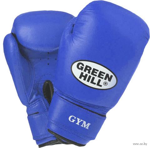 Перчатки боксёрские GYM BGG-2018 (12 унций; синие) — фото, картинка