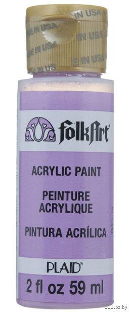 """Краска акриловая """"FolkArt. Acrylic Paint"""" (цветок орхидеи; 59 мл; арт. PLD-02622) — фото, картинка"""