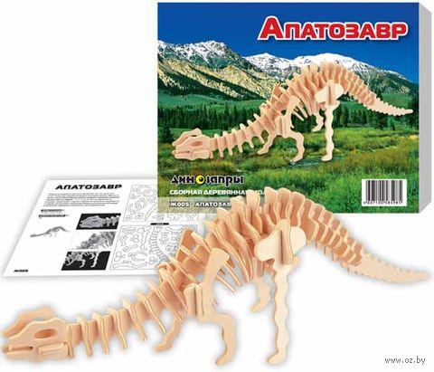 """Сборная деревянная модель """"Апатозавр"""" — фото, картинка"""
