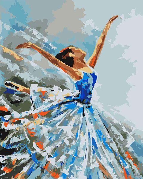 """Картина по номерам """"Балерина"""" (400х500 мм) — фото, картинка"""