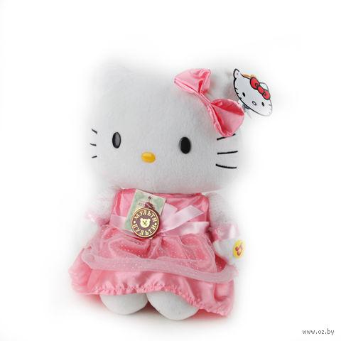 """Мягкая музыкальная игрушка """"Hello Kitty"""" (30 см)"""