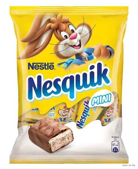 "Конфеты ""Nesquik. Mini"" (171 г) — фото, картинка"