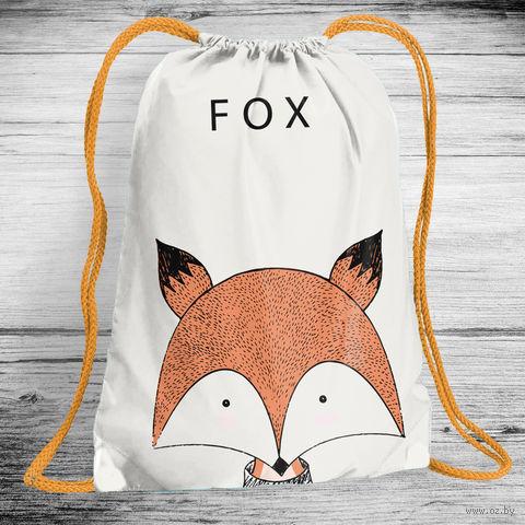 "Рюкзак-мешок ""Fox"" (арт. 3) — фото, картинка"