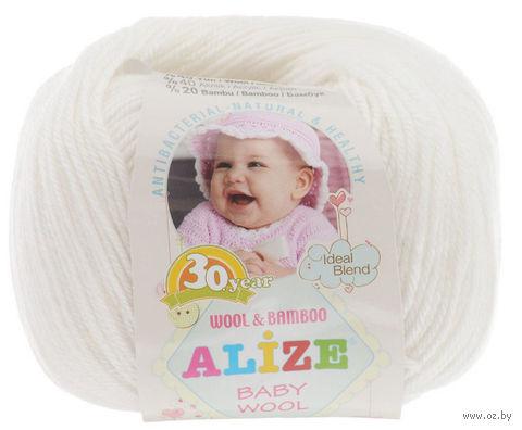 """Пряжа """"ALIZE. Baby Wool №55"""" (50 г; 165 м) — фото, картинка"""
