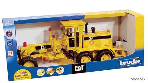 """Модель машины """"Грейдер CAT"""" (масштаб: 1/16)"""