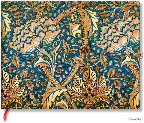 "Гостевая книга Paperblanks ""Роза Морриса"" нелинованная (формат: 230*180 мм)"