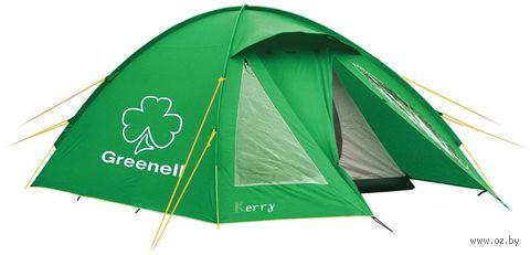 """Палатка """"Керри 3 v.3"""" (зелёная) — фото, картинка"""