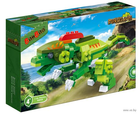 """Конструктор """"Динозавр"""" (175 деталей)"""