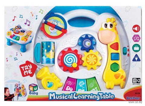 """Развивающая игрушка """"Музыкальный столик"""" (со световыми эффектами)"""