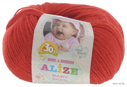 ALIZE. Baby Wool №56 (50 г; 165 м) — фото, картинка