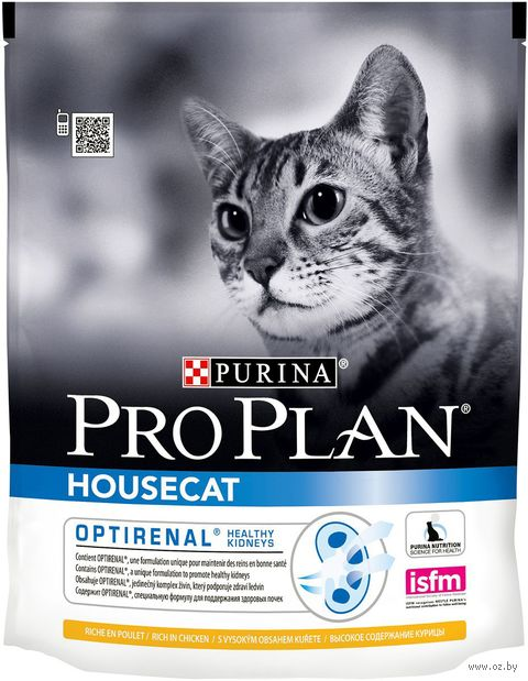 "Корм сухой для домашних кошек ""Housecat"" (400 г; курица) — фото, картинка"